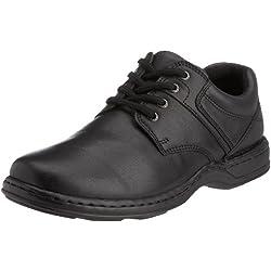 Hush Puppies - Zapatos de cordones de cuero para hombre