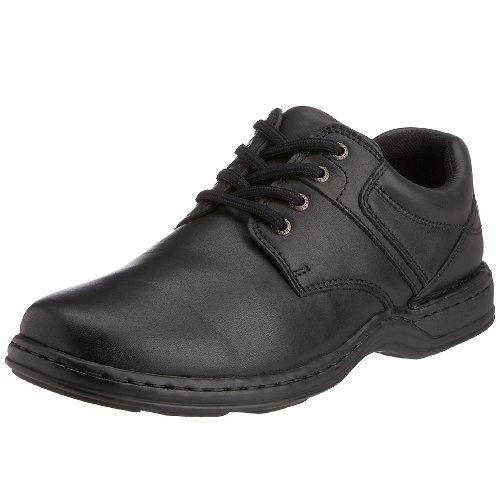 Hush Puppies – Zapatos de cordones de cuero para hombre