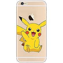 coque pokemon go pikachu / ronflex tpu iphone 5 5s se (pikachu)