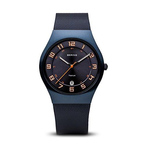 BERING Unisex-Armbanduhr Analog Quarz Edelstahl 11937-393
