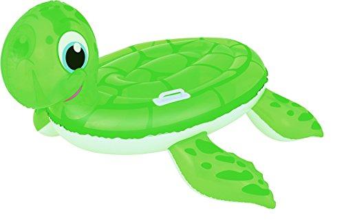 ollection Reittier Badetier Aufblasbare Schildkröte für absoluten Badespaß ! Mit Haltegriff. aufgeblasen: ca. 140 x 140 cm ()