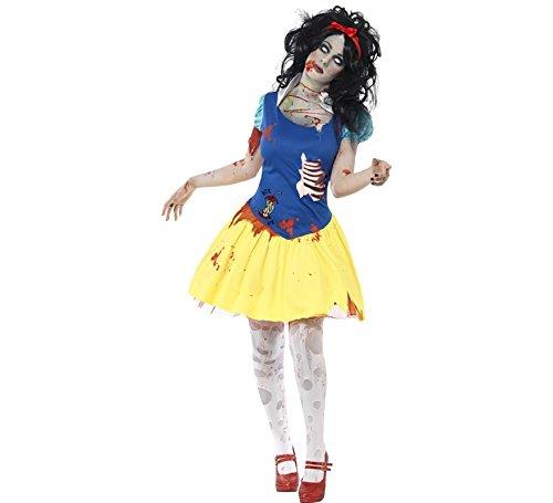 Smiffys Halloween Zombie-Märchen-Kostüm für Damen M
