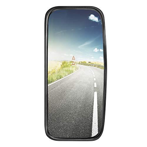 1x LKW, Transporter oder Bus Spiegel universal 42 x 20 cm Größe mit flexibler Halterung