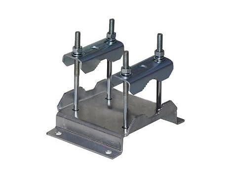 Support Mat Antenne - A.S. SAT 46300Collier de serrage pour tuyau