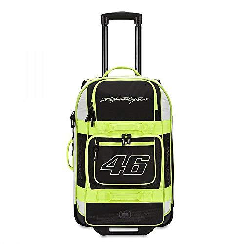 Zhanghanzong-apparel Koffer Tragbare Motorrad-Tasche Reise Trolley Gepäck Outdoor-Camping-Tourismus Multifunktionale Große Kapazität Ausstattung Zum Reisen (Color : Black, Size : 14×10×22CM)