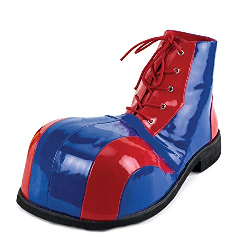 Higher-Heels Funtasma Clown-Schuhe Clown-05 blau/rot
