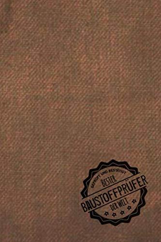 Geprüft und Bestätigt bester Baustoffprüfer der Welt: inkl. Terminplaner 2020 ★   Das perfekte Geschenk für Männer, die Baustoffe prüfen   Geschenkidee   Geschenke