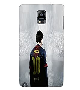 PrintDhaba Sports D-5542 Back Case Cover for SAMSUNG GALAXY NOTE 3 (Multi-Coloured)
