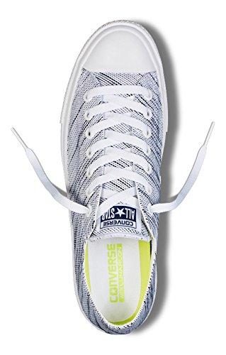Converse Sneakers Chuck Taylor All Star Ii C151089, Scarpe da Ginnastica Unisex – Adulto Bianco