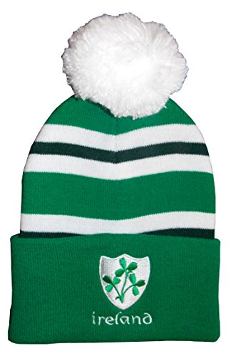 Irland Rugby Bobble Hat