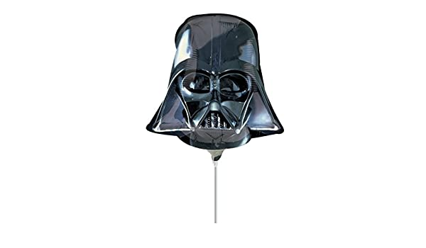 "25/"" Darth Vader Helmet Head Star Wars Foil Helium Balloon Birthday Party Anagram"