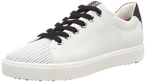 Maripe Damen 28250 Sneaker, Weiß (Bianco(Laser 9293 in AGNELOTTO Bianco-VAR.03) 10), 38 EU