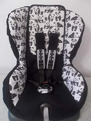 Römer Duo Plus Bezug Ersatzbezug Panda schwarz weiß
