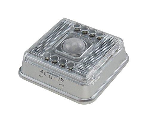 muchbuy-8-led-light-lamp-pir-auto-sensor-sensor-de-movimiento-plata
