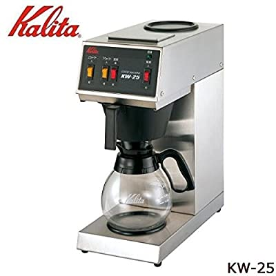 Carita commercial coffee machine KW-25 (Japan import / The package and the manual are written in Japanese)