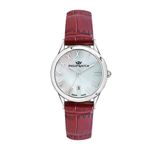 PHILIP WATCH Womens Analogue Quartz Watch with Leather Strap R8251596502
