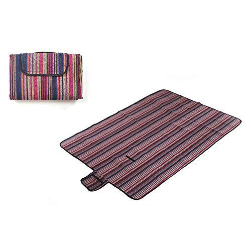 Rziioo Picknickdecke 150 X 200 cm Wasserdicht, Portable Klapp Sandproof Strandmatte Für Familienurlaub BBQ Camping Outdoor,C