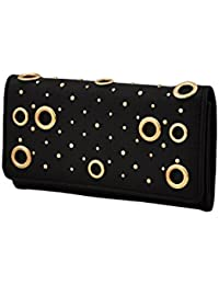 Mark & Keith Women Black Wallet(MBG 2055 BK)