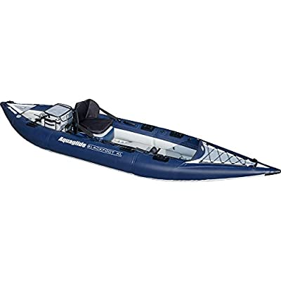 Aquaglide Blackfoot High Pressure Inflatable Fishing Kayak by Aquaglide