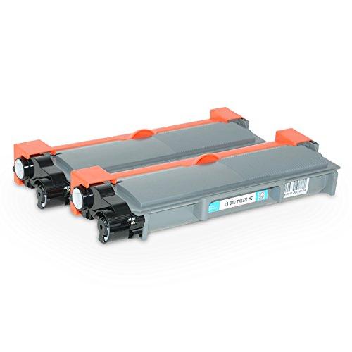 Logic-Seek Toner Kompatibel für Brother TN-2320, 2-er Pack, 2600 Seiten, Schwarz