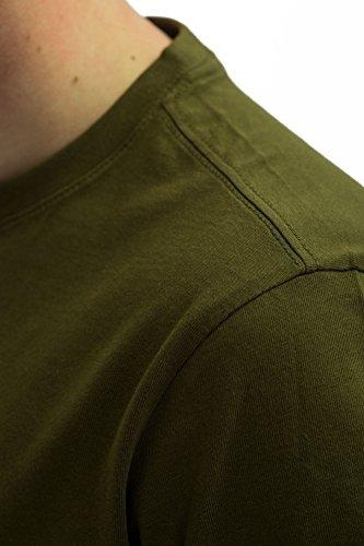 Reell T-Shirt Small Script T-Shirt Artikel-Nr.1301-009 - 03-006 Olive