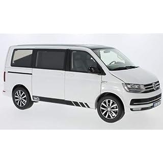 VW T6 Multivan, Weiss/schwarz, 2015, Modellauto, Fertigmodell, NZG 1:18