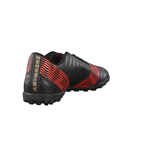 adidas Herren NEMEZIZ Tango 17.4 TF Fußballschuhe Schwarz (Cblack/Cblack/Solred)