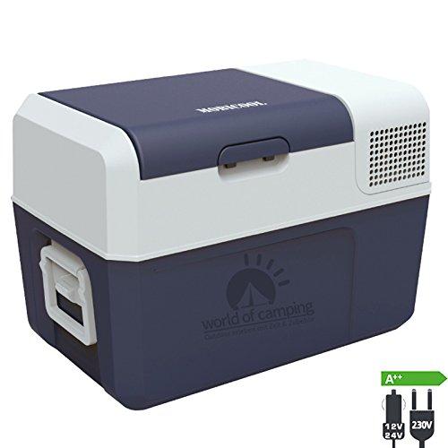 WAECO Dometic Mobicool FR 34 AC DC Kompressorkühlbox Kühlbox 12V 24Volt 230V | Kühlbox für Auto, Wohnmobil oder zu Hause über Steckdose