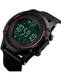 Shengjuanfeng-Relojes Reloj Inteligente electrónico Reloj de Cuenta de Pasos Cámara Bluetooth Reloj Multifuncional La
