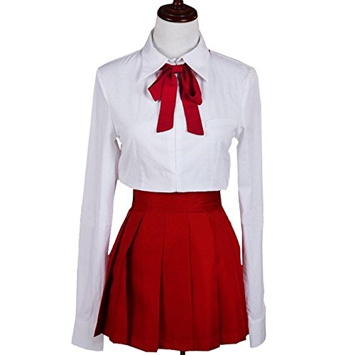 Sunkee Anime Himouto! Umaru-chan Cosplay Umaru Doma Kostüm Schuluniform, Größe: S (Umaru Doma Kostüm)