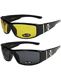 Original Element 8 ® Sportbrille Sonnenbrille incl. Softbag Etui 18516BRN/ORG lv5UmVG