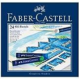 Faber-Castel 127024  - Ceras pastel al óleo en caja de cartón (24 unidades) [Importado de Alemania]