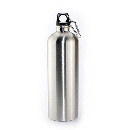 EstiloPremium Eco Friendly (Bpa Free) -Big Metallic Sports Water Bottle -750Ml (Colours May Vary-1 Piece)