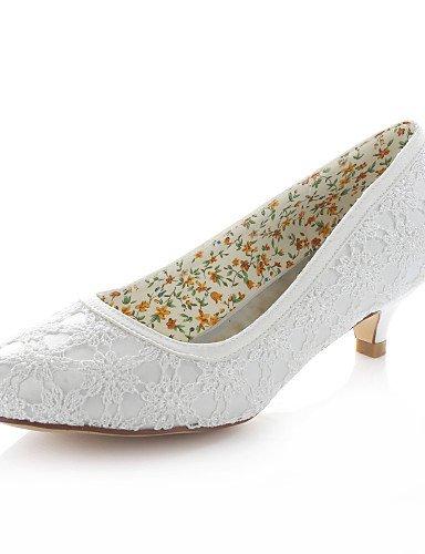 WSS 2016 Chaussures de mariage-Ivoire-Mariage / Habillé / Soirée & Evénement-Talons / Bout Arrondi-Talons-Homme 1in-1 3/4in-ivory