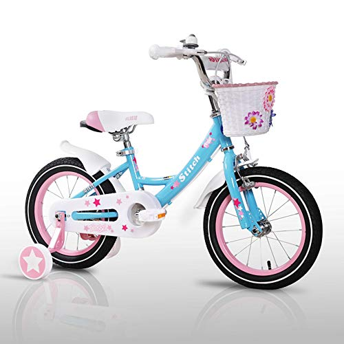 Axdwfd Kinderfahrräder Freestyle Kids 'Bikes, mit Stützrädern Fahrrad 12