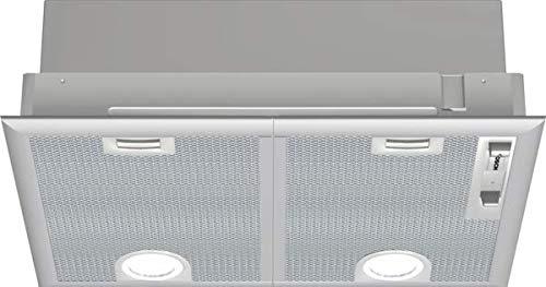 Bosch Serie 4 DHL555BL - Campana (590 m³/h, Canalizado/Recirculación, D, A, C,...