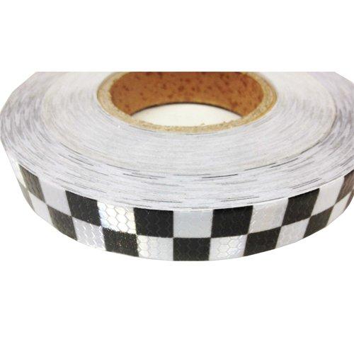 25-mm-high-intensity-reflective-chequer-checkered-tape-vinyl-roll-1m-2m-3m-4m-5m-10m-black-white-1-m