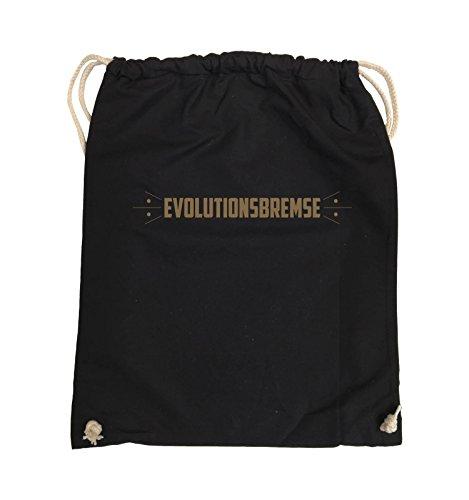 Borse Comedy - Evolution Brake - Turn Bag - 37x46cm - Colore: Nero / Argento Nero / Marrone Chiaro