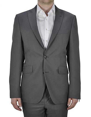 Masterhand - Tailored Fit - Herren Baukasten Sakko in Gau oder Braun, 900 0019 (Terrone), Größe:102;Farbe:Grau (14)
