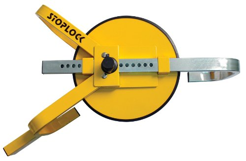 Stoplock HG 400-00 Wheel Clamp - Bloqueo de Rueda Ajustable, 13' - 15'
