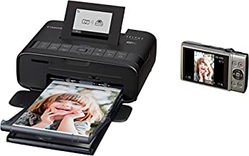 Selphy Cp1200 Wireless Compact Photo Printer- Black 5