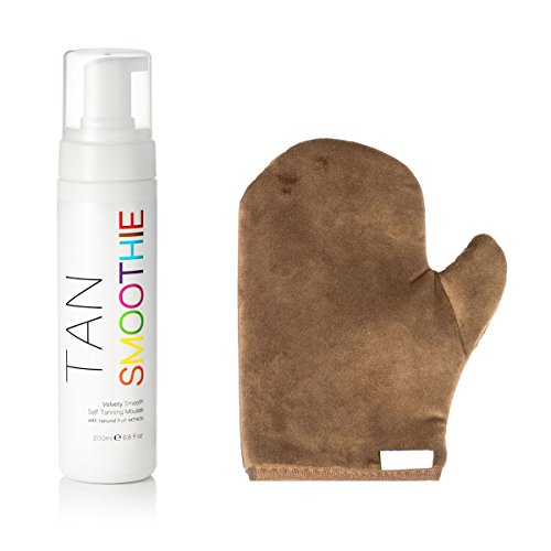 tan-smoothie-organic-self-tanning-mousse-with-instant-tint-and-free-tan-applicator-mitt-sunless-tann