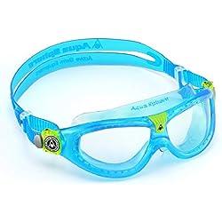 Aquasphere 175300 Seal Lunettes de natation Bleu avec Clear Lens