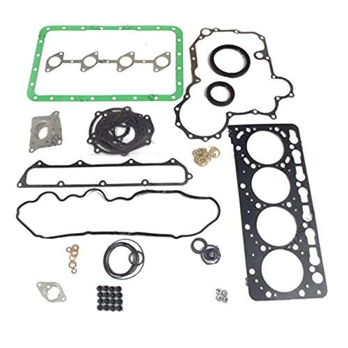 V3800 V3800T Motor-Überholdichtungssatz - SINOCMP Bagger Teile für Kubota Bobcat Bagger 1G574-99355 (Kubota-motor Teile)