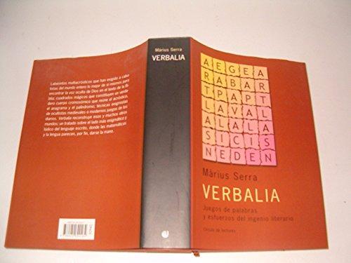 Verbalia : juegos de palabras y esfuerzos del ingenio literario