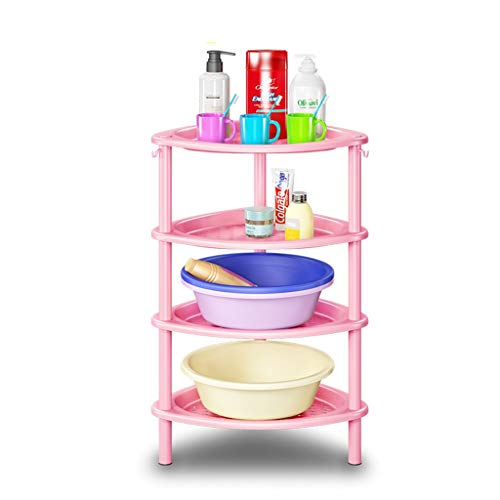 GYY Badezimmer badezimmerboden Regal bodenstehend waschbecken Stand wc badezimmergestell awash die Bank (Color : Blue) (Wc-bank)