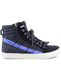 Diesel D-String Homme Anthracite Baskets Hommes Haut Top Chaussures de Sport  D String 00615fc7863f