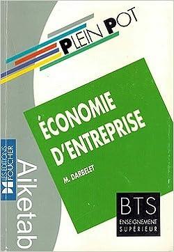 Livres gratuits Economie d'entreprise : BTS, enseignement supérieur pdf