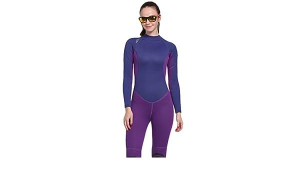 Women's One piece Swimwear 3mm Neoprene Wetsuits Modest