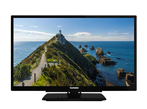 Telefunken XH24G101 61 cm (24 Zoll) Fernseher (HD ready, Triple Tuner) (Tv Hd 24)